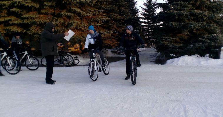 В Магнитогорске состоялись первые соревнования по велотлону