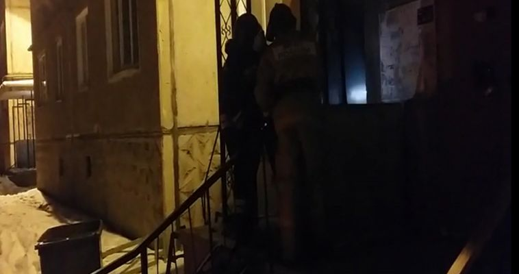 Видео нашего журналиста со вчерашнего пожара на Тевосяна