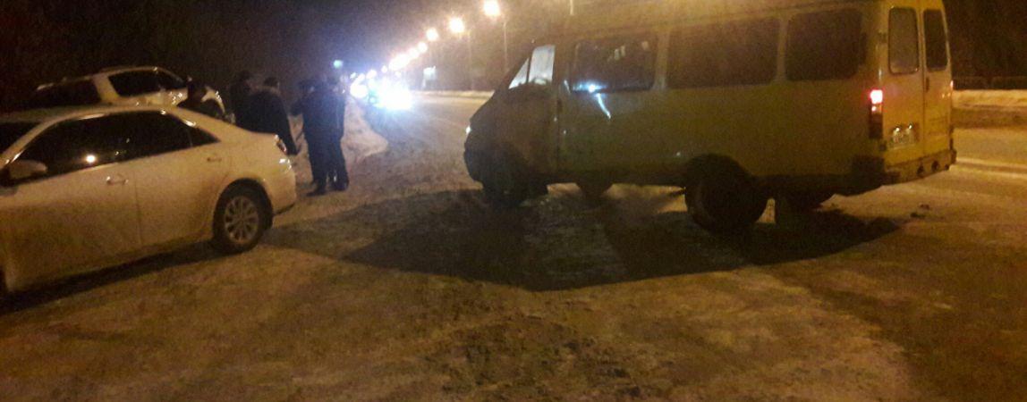 Очередная весть с «боевых» дорог Магнитогорска. На этот раз два ДТП с «маршрутками» в одном месте!