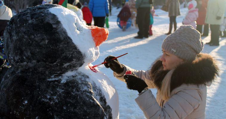 День снега в Магнитогорске. Финальный аккорд новогодней кампании