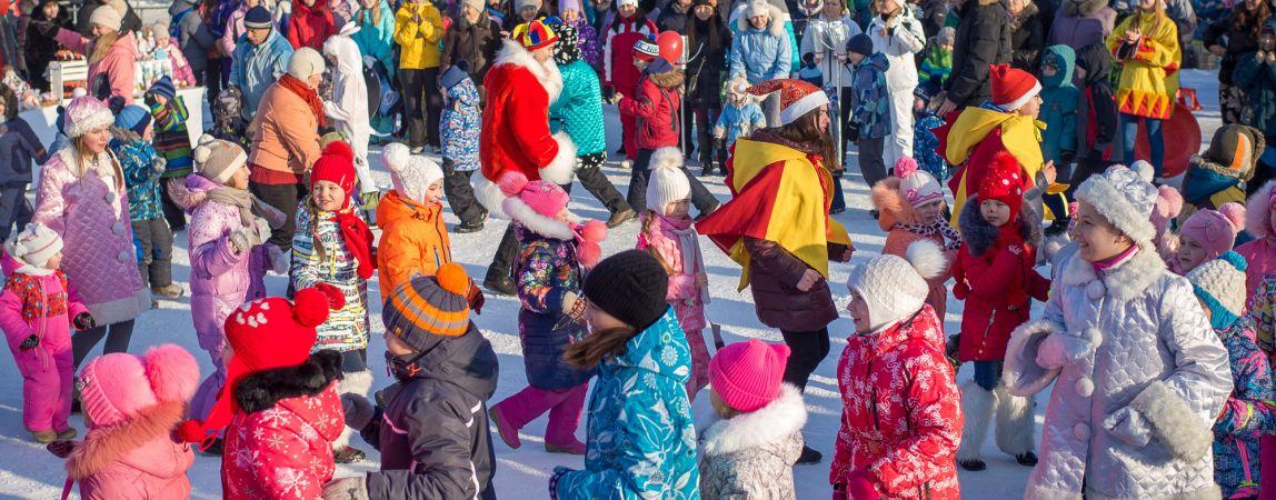 Весело и спортивно! Магнитогорск отпраздновал Всемирный день снега