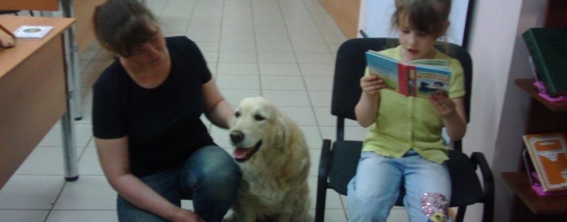 Малыши могут научиться читать с помощью собак