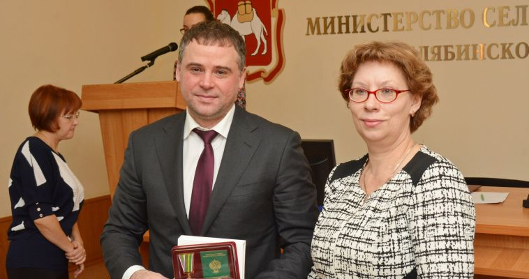 Вячеслав Евстигнеев награжден ведомственной медалью
