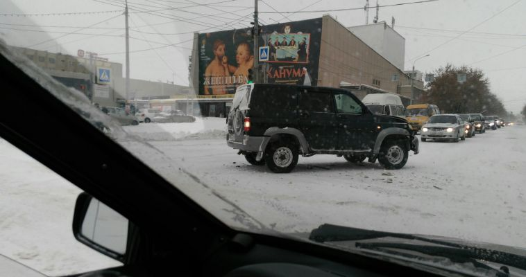 Подробности ДТП на перекрестке пр. Ленина – ул. Гагарина