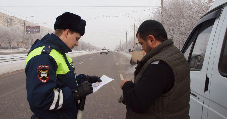 ГИБДД оштрафовала почти 300 водителей маршруток