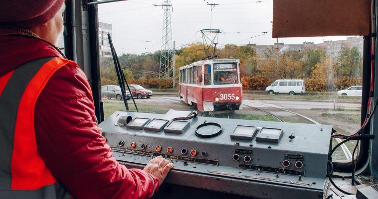 На Грязнова встали трамваи