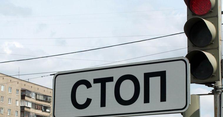 Выехал на красный. На улице Суворова произошло двойное ДТП