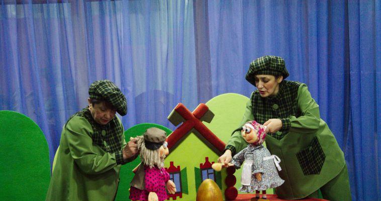 В «Буратино» прошла премьера «театрального урока» для малышей