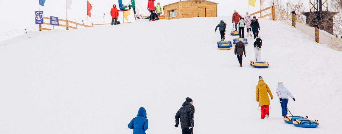 Вставайте на лыжи! В городе появился «Чудо-склон»