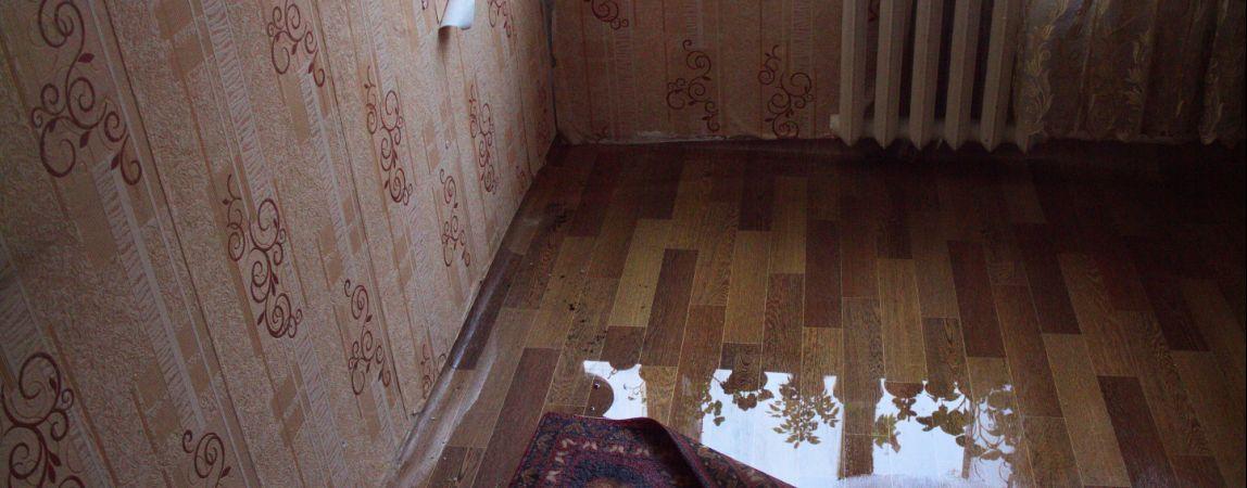 Потоп в бывшем общежитии обесточил три этажа