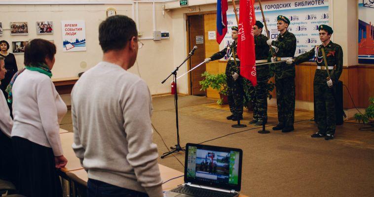 Военные ветераны рассказали учащимся колледжа, почему служить — хорошо