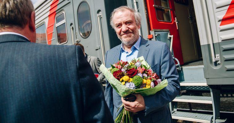 В Магнитогорск с концертной программой прибыл Валерий Гергиев