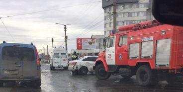 На Московской произошло серьёзное ДТП