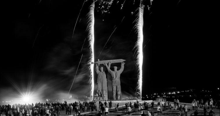 ФОТО: Магнитогорск слушает «Симфонию Великой победы»