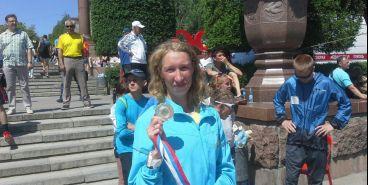 Магнитогорская легкоатлетка выиграла Чемпионат России по марафону