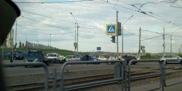 На Вознесенской столкнулись 4 автомобиля