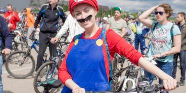 Фоторепортаж со «Дня 1000 велосипедистов»