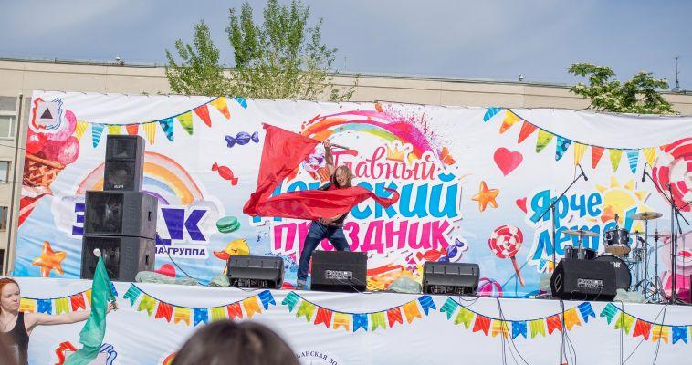 Фоторепортаж с главного праздника в честь Дня защиты детей