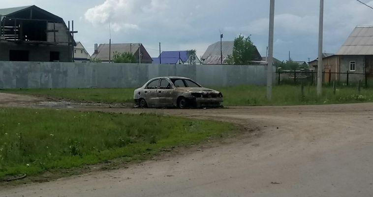 В Магнитогорске снова горят автомобили
