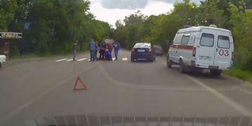 ВИДЕО: Женщина серьезно травмирована. Подробности ДТП на Дачном шоссе