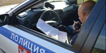 Сотрудники полиции задержали подозреваемого в совершении разбойного нападения