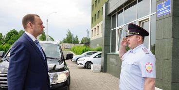 Начальник МВД области побывал в Магнитогорске с рабочим визитом