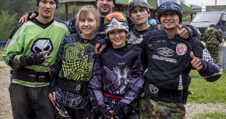 Фоторепортаж: В Магнитогорске прошли соревнования по спортивному пейнтболу