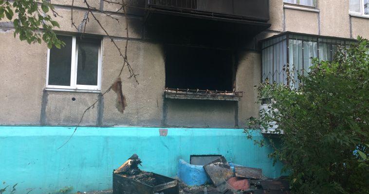 Он надышался дымом. В Магнитогорске из-за пожара пострадал младенец
