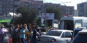 ДТП на Советской. На пешеходном переходе сбили женщину