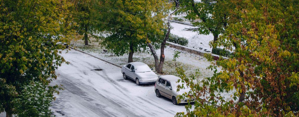 В Магнитогорске чистят дороги