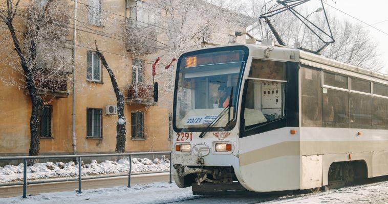 Пассажиры устроили драку в трамвае