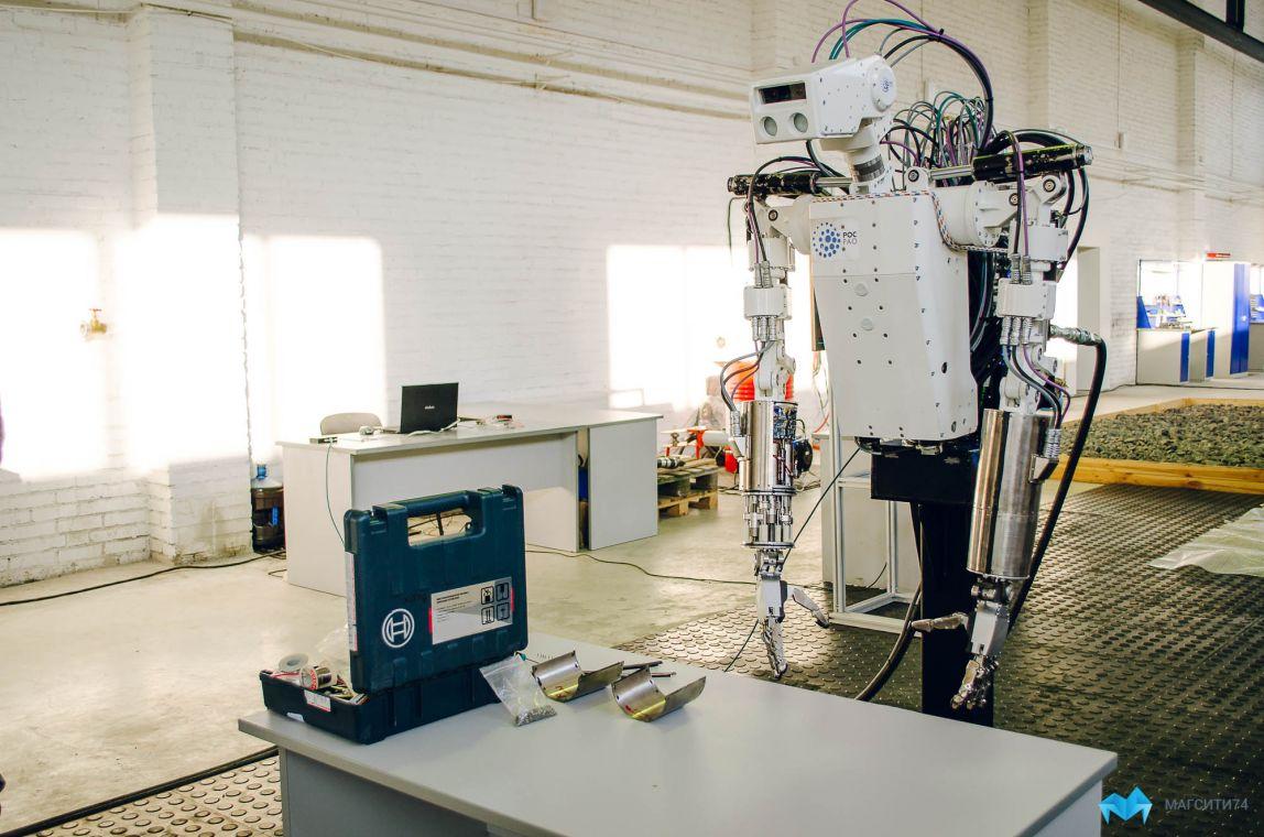На магнитогорской земле поселились роботы