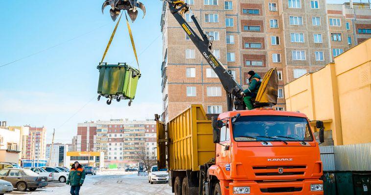 С приставкой «евро». В Магнитогорске продолжается установка новых мусорных контейнеров