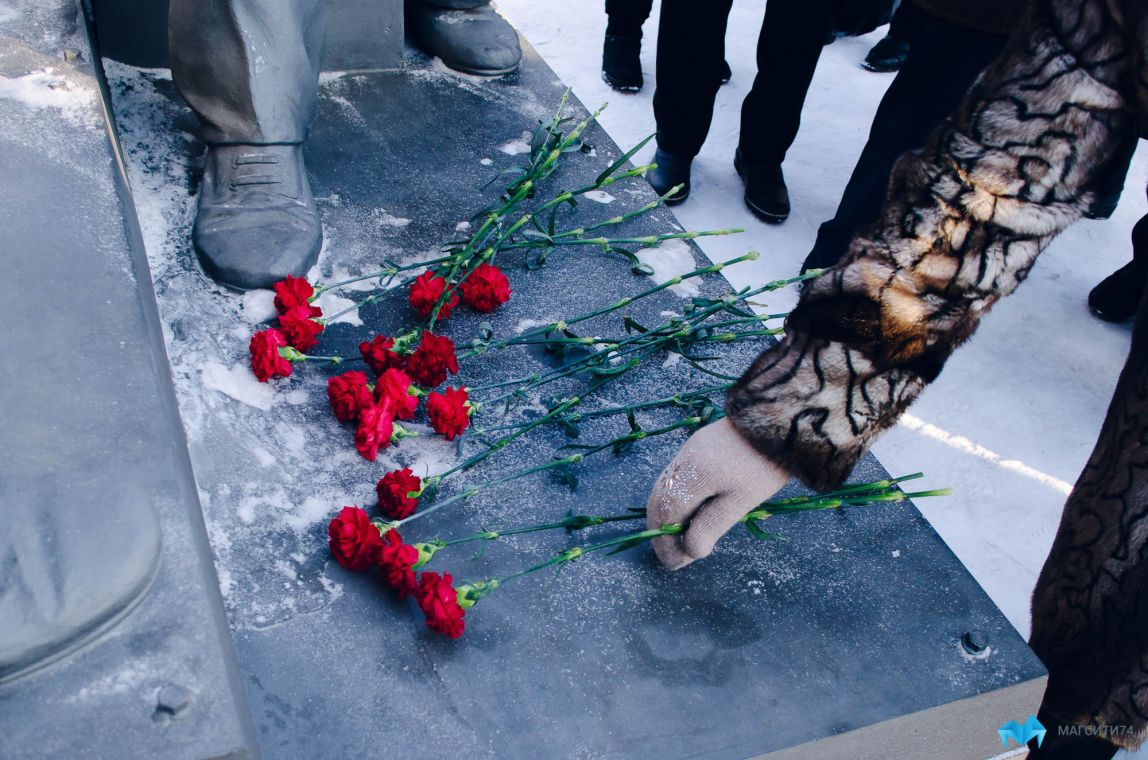 В Магнитогорске отметили 75 лет победы в Сталинградской битве