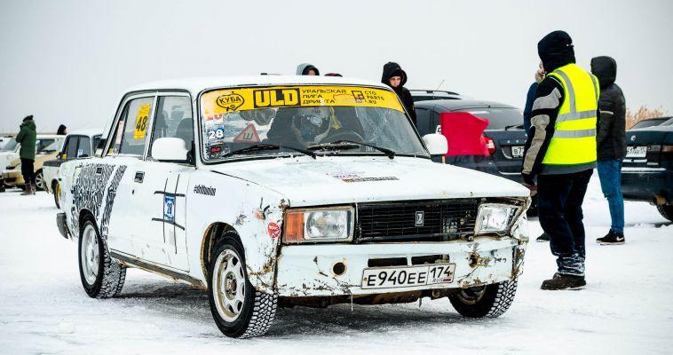Лед и скорость. В Магнитогорске прошли соревнования по дрифту на льду