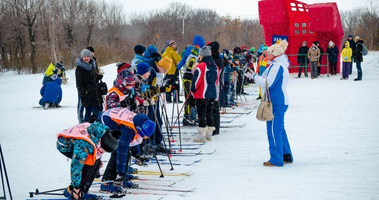 Магнитка вышла на «Лыжню России»