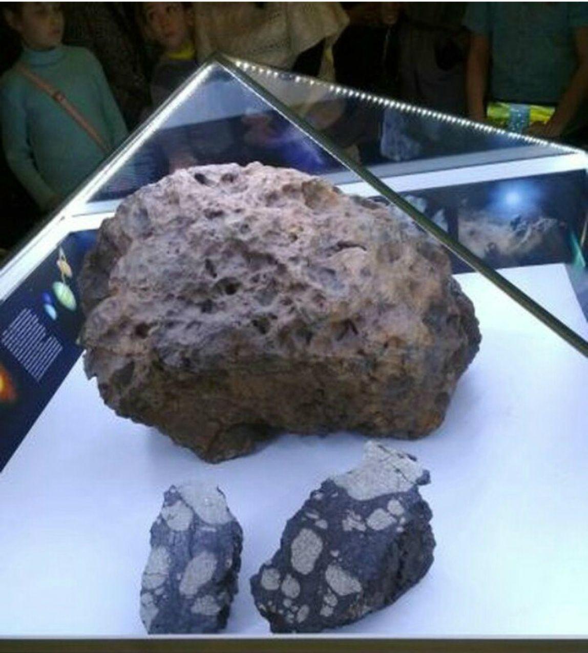 такого диагноза, первые фото выловленного челябинского метеорита это тот
