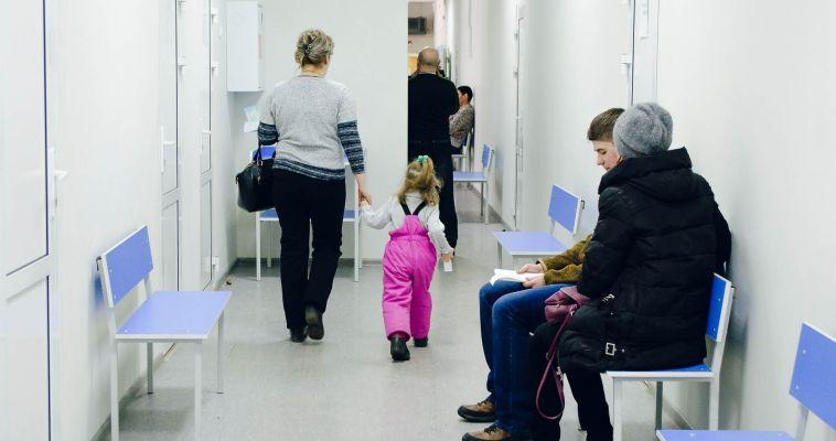 Ремонт шагает по больницам. В Магнитогорске продолжают обновлять детские медучреждения