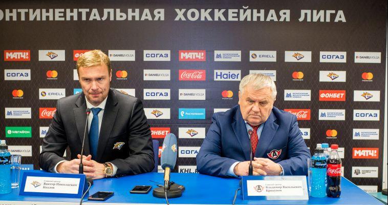 Виктор Козлов: «Хочу поблагодарить «Автомобилист» за хорошую серию»