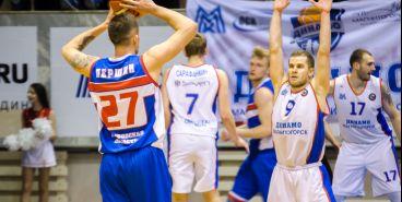 Родные стены помогают. Магнитогорские баскетболисты одержали победу в домашней серии игр