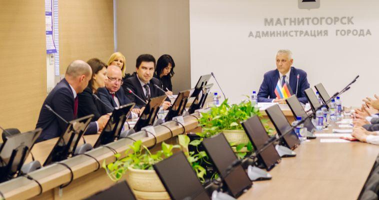 Генеральный консул Германии посетил Магнитогорск