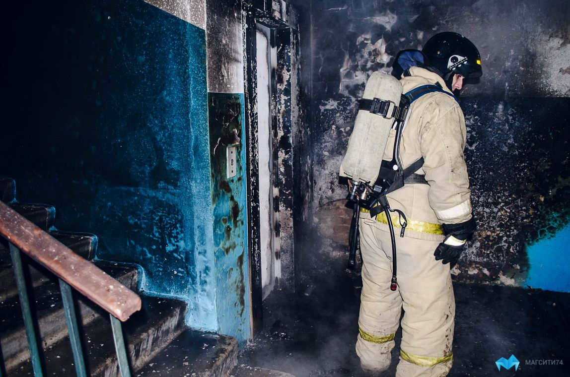 В Магнитогорске увеличилось количество пожаров