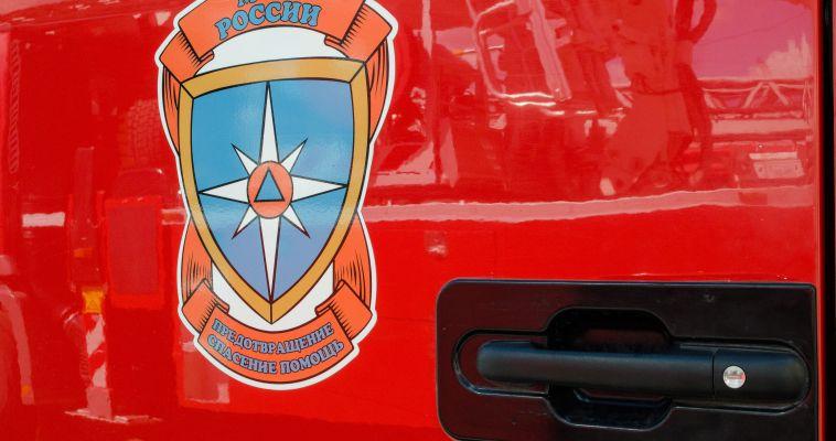 На Калмыкова горела машина