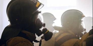 При пожаре в крупном ТЦ никто не пострадал