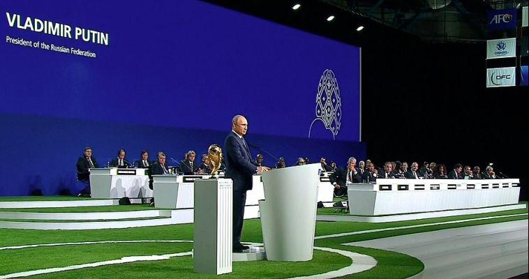 В Кремле рассказали, кто приедет на открытие ЧМ-2018