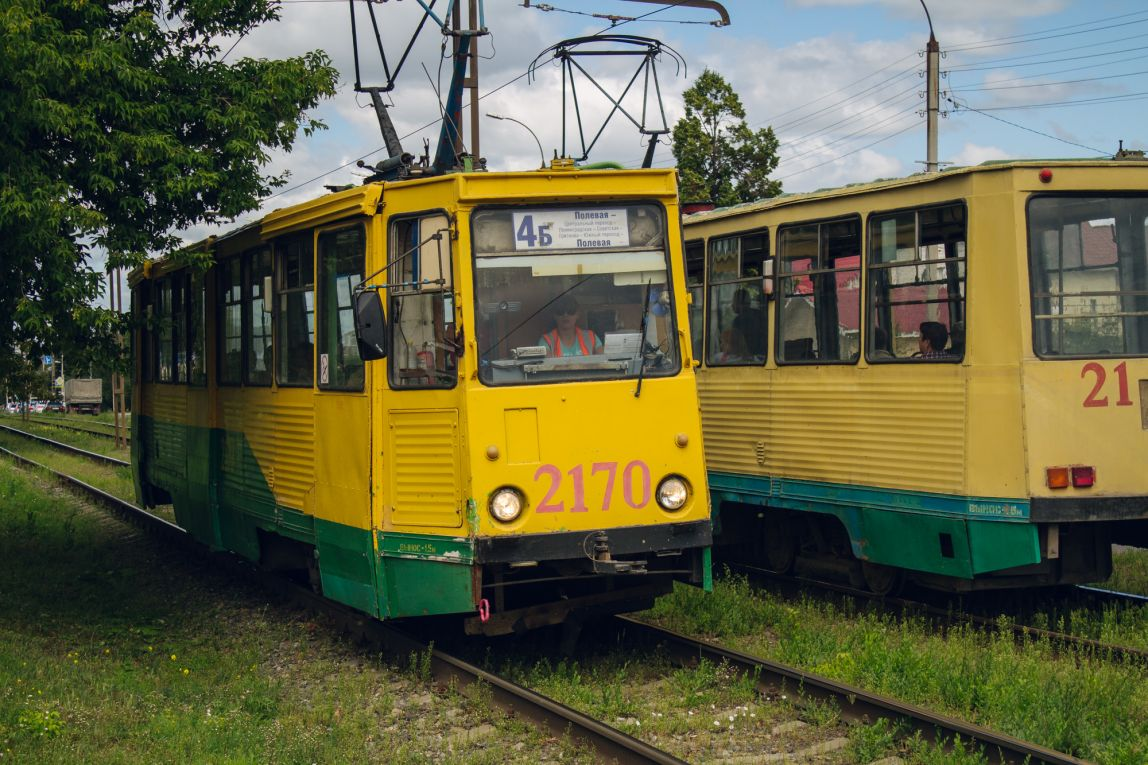 Трамваи вернулись на линию