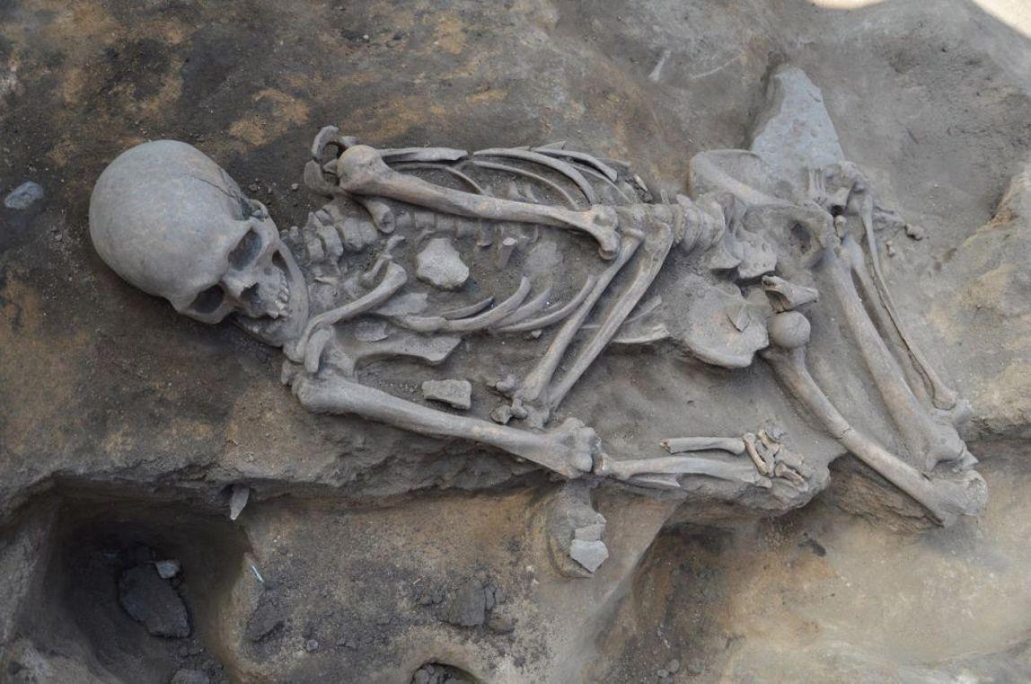 В церковном подполе нашли скелет