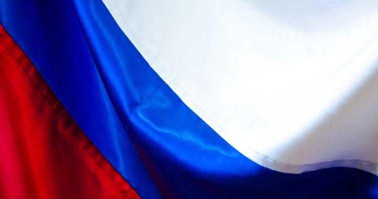 Самое высокое в мире здание окрасилось в российский триколор