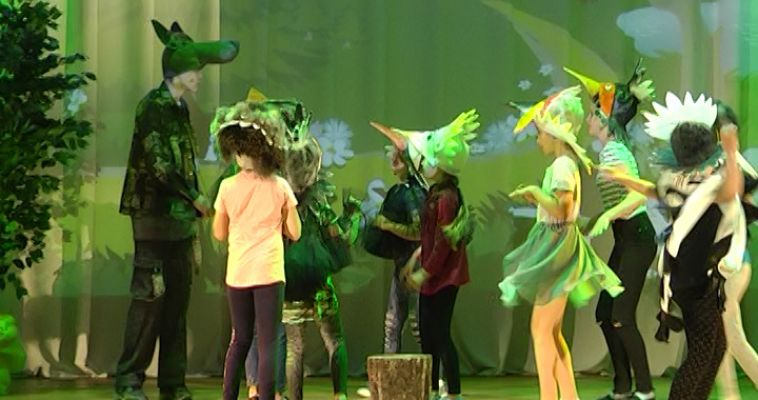 Областной фестиваль юных актеров