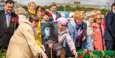В память о героях Великой Отечественной